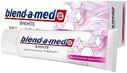 """Voňavky, Parfémy, kozmetika Zubná pasta """"Bielenie pre citlivé zuby"""" - Blend-a-Med 3D White Whitening Therapy Sensitive"""