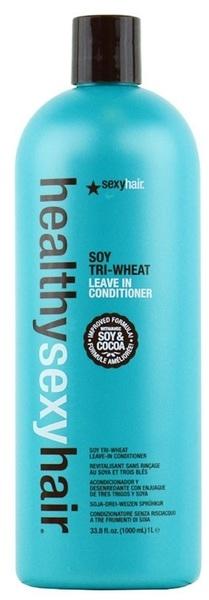 Bezoplachový sójový kondicionér - SexyHair HealthySexyHair Soy Tri-Wheat Leave-In Conditioner — Obrázky N3