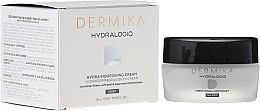 Voňavky, Parfémy, kozmetika Nočný výživný krém na tvár - Dermika Hydralogio Hydra Nourishing Face Cream 30+