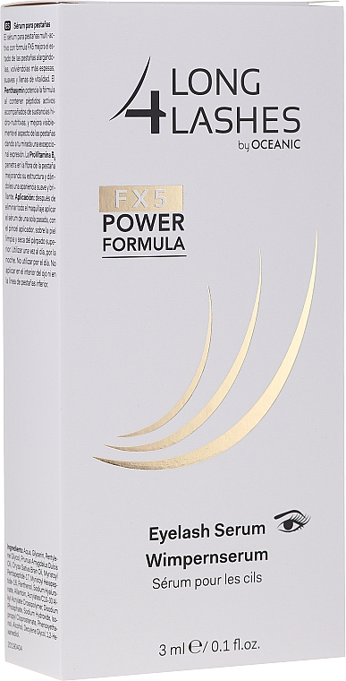 Sérum na mihalnice - Long4lashes FX5 Power Formula EyeLash Serum