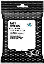 Voňavky, Parfémy, kozmetika Peelingové utierky na tvár a telo - Comodynes Easy Peeling Exfoliating Action Face and Body