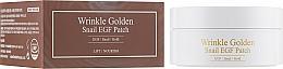 Voňavky, Parfémy, kozmetika Hydrogélové náplasti pod oči so zlatom a slimačím mucínom - The Skin House Wrinkle Golden Snail EGF Patch