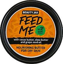 """Voňavky, Parfémy, kozmetika Telový olej """"Feed Me"""" - Beauty Jar Nourishing Butter For Dry Skin"""
