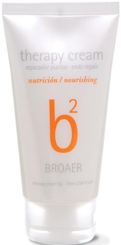 Krém na končeky vlasov - Broaer B2 Nourishing Therapy Cream — Obrázky N1