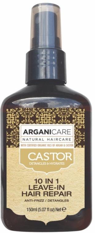 Sérum na vlasy 10 v 1 - Argaincare Castor Oil 10-in-1 Hair Repair