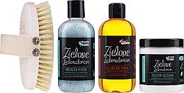 Voňavky, Parfémy, kozmetika Sada - Zielone Laboratorium (b/massage/1pc + sh/cr/250ml + b/balm/250ml + b/oil/250ml)