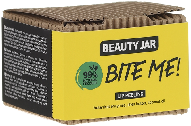 Scrub na pery s kokosovým a bambuckým maslom - Beauty Jar Bete Me Lip Peeling