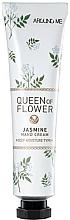 """Voňavky, Parfémy, kozmetika Krém na ruky """"Jazmínové kvety"""" - Welcos Around Me Queen of Flower Jasmine Hand Cream"""