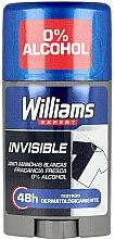 Voňavky, Parfémy, kozmetika Dezodoračný stick - Williams Expert Invisible Deodorant Stick