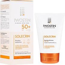 Voňavky, Parfémy, kozmetika Ochranná emulzia SPF50+ - Iwostin Solecrin Emulsion SPF50+