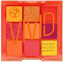 Voňavky, Parfémy, kozmetika Paleta očných tieňov - W7 Vivid Fluorescent & Fabulous Pressed Pigments