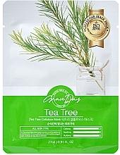 Voňavky, Parfémy, kozmetika Látková maska na tvár s čajovníkom - Grace Day Traditional Oriental Mask Sheet Tea Tree