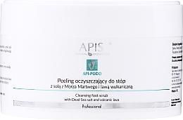 Voňavky, Parfémy, kozmetika Peelingový čistiaci prostriedok na nohy - Apis Professional Api-Podo