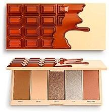 Voňavky, Parfémy, kozmetika Paleta na make-up - I Heart Revolution Chocolate Face Palette Waffle