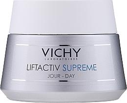 Voňavky, Parfémy, kozmetika Liečba dlhodobých účinkov: korekcia vrások a obnovenie pružnosti pokožky, pre suchú pokožku - Vichy Liftactiv Supreme