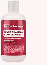 Voňavky, Parfémy, kozmetika Šampón-kondicionér na bradu - Recipe for Men Beard Shampoo & Conditioner