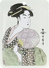 """Voňavky, Parfémy, kozmetika Textilná maska na tvár """"Materská kašička + extrakt z kvetu Sakura"""" - Mitomo Royal Jelly Cherry Blossom Facial Essence Mask"""