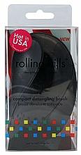 Voňavky, Parfémy, kozmetika Kompaktná kefa na vlasy, čierna - Rolling Hills Compact Detangling Brush Black