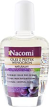 Voňavky, Parfémy, kozmetika Olej na tvár a telo z hroznových semien - Nacomi Natural