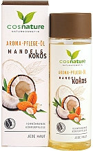 """Voňavky, Parfémy, kozmetika Olej na telo """"Mandle a kokos"""" - Cosnature Aromatherapy Body Oil Almond & Coconut"""