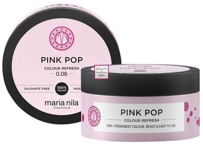 Tónovacia maska na vlasy - Maria Nila Colour Refresh Mask Pink Pop — Obrázky N1
