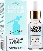 Voňavky, Parfémy, kozmetika Hydratačné sérum na tvár - Marion Love Holo Moisturizing Face Serum