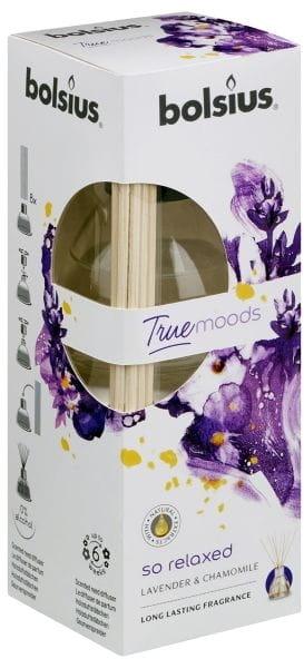 "Aromatický difúzor ""Levanduľa a harmanček"" - Bolsius Fragrance Diffuser True Moods So Relaxed — Obrázky N1"