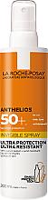 Voňavky, Parfémy, kozmetika Ultraľahký opaľovací sprej na tvár a telo SPF50 + - La Roche-Posay Anthelios Invisible Spray