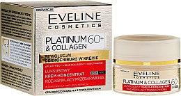 Krém na tvár 60+ - Eveline Cosmetics Platinum & Collagen — Obrázky N2