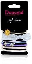 """Voňavky, Parfémy, kozmetika Sada gumičiek na vlasy """"Darling"""" FA-5535, 7 ks - Donegal"""