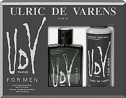 Voňavky, Parfémy, kozmetika Ulric de Varens UDV - Sada (edt/100ml+deo/200ml)