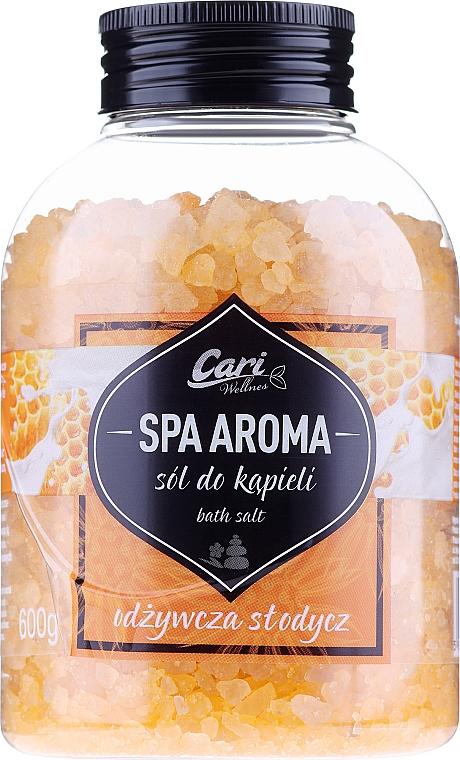 """Soľ do kupeľa """"Med"""" - Cari Spa Aroma Salt For Bath"""