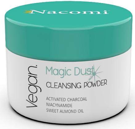Čistiaci púder na tvár pre problémovú pleť - Nacomi Face Cleansing & Detoxifying Powder Magic Dust