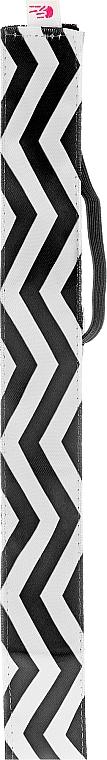 Čelenka, čierno-biela - Ivybands Chevron Black White Hair Band — Obrázky N2