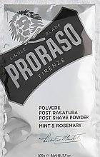 Voňavky, Parfémy, kozmetika Púder po holení s mätou a rozmarínom - Proraso Mint & Rosemary Post Shave Powder
