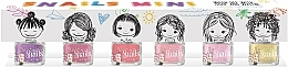 Voňavky, Parfémy, kozmetika Sada detských lakov na nechty 6x7ml - Snails Mini Bebe