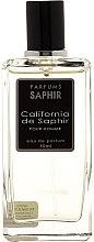 Voňavky, Parfémy, kozmetika Saphir Parfums California - Parfumovaná voda (tester s viečkom)