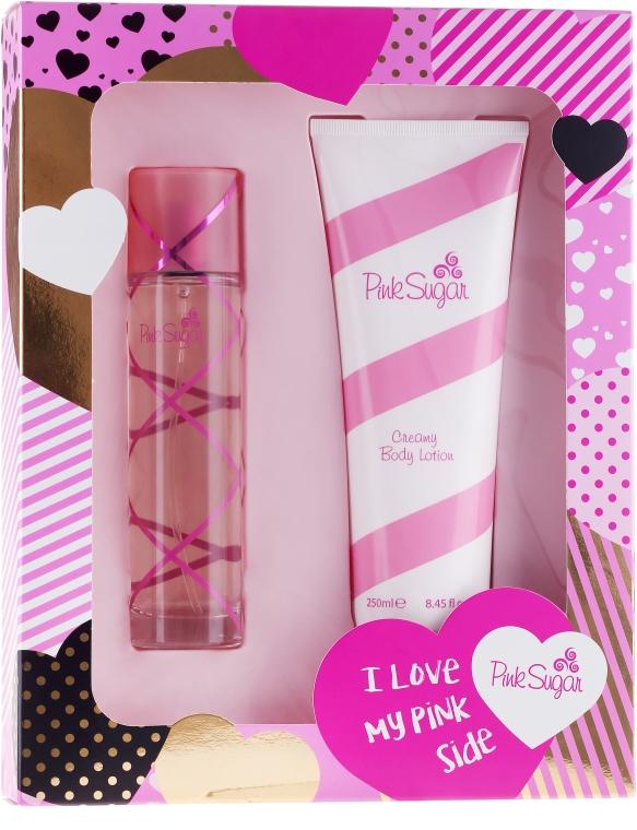 Aquolina Pink Sugar - Sada (edt/100ml + b/lot/250ml)
