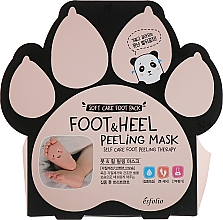 Voňavky, Parfémy, kozmetika Peelingové ponožky na chodidlá - Esfolio Foot & heel Peeling Mask