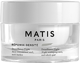 Voňavky, Parfémy, kozmetika Nočný krém na tvár - Matis Reponse Densite Densifiance-Night