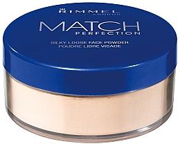 Voňavky, Parfémy, kozmetika Sypký prášok - Rimmel Match Perfection Silky Loose Powder