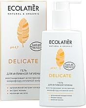 Voňavky, Parfémy, kozmetika Gél na intímnu hygienu s organickým extraktom lotosu - Ecolatier Delicate