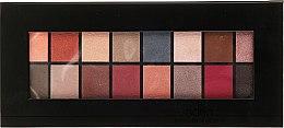 Voňavky, Parfémy, kozmetika Paleta očných tieňov, 16 odtieňov - Aden Cosmetics Eyeshadow Palette