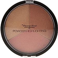 Voňavky, Parfémy, kozmetika Paleta rozjasňovačov - Pierre Rene Highlighting Powder Palette