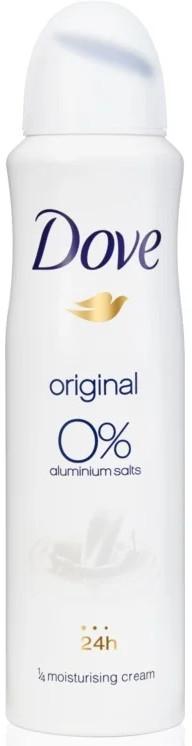 """Dezodoračný sprej """"Original"""", bez hliníka - Dove Original Deo Spray"""