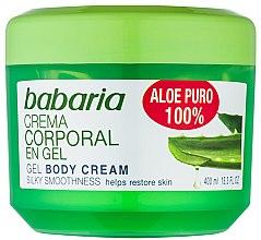 Voňavky, Parfémy, kozmetika Prírodný gél na regeneráciu tela - Babaria Aloe Vera