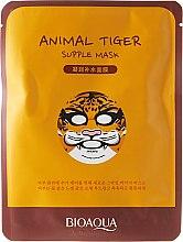 """Voňavky, Parfémy, kozmetika Látková maska na tvár vo zvieracom štýle """"Tiger"""" - Bioaqua Animal Tiger Supple Mask"""