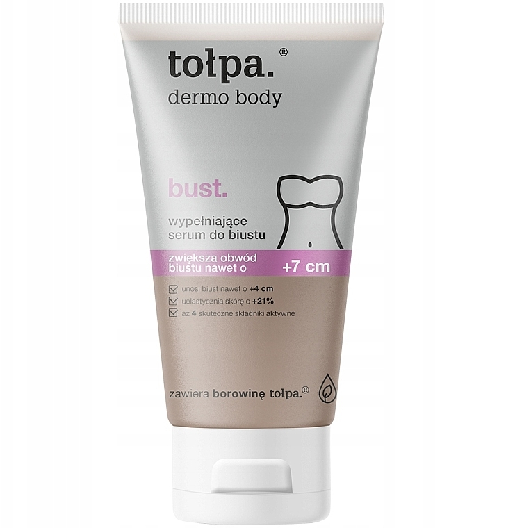 Modelovacie sérum na poprsie - Tolpa Dermo Body +7cm Bust Serum