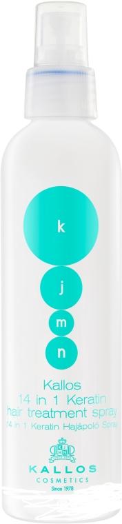 Sprej pre styling vlasov s keratínom - Kallos Cosmetics Keratin Spray