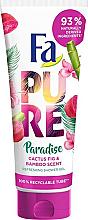 """Voňavky, Parfémy, kozmetika Sprchový gél """"Kaktus a bambus"""" - Fa Pure Paradise Shower Gel Cactus & Bamboo"""